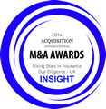 M&A Awards - Rising Stars in Insurance Due Diligence